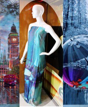 Armani Silk Digital 3D Printed